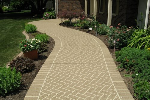 Classic Texture With Agg Effects Walkway Classic Texture Sundek ,
