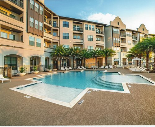 Commercial Classic Texture Pool Deck New Orleans, La Concrete Coatings Multi-Family Sundek