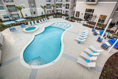 Exchange I Concrete Coatings Baton Rouge La Multi-Family Sundek