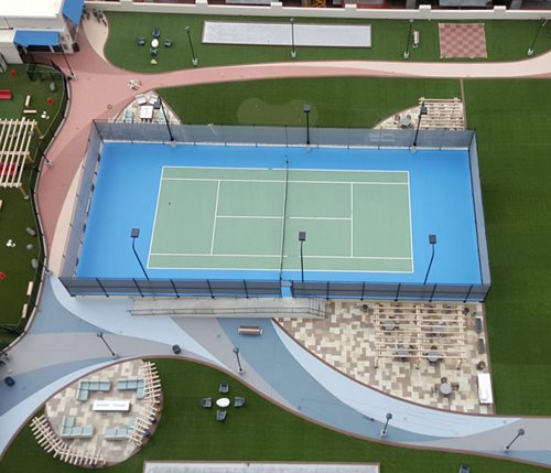 Skyhouse-Charlotte-Nc (sow) Sport-Court-Cropped Parks, Clubs & Municipalities Sundek ,