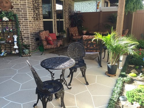Back Patio Patios & Outdoor living Sundek