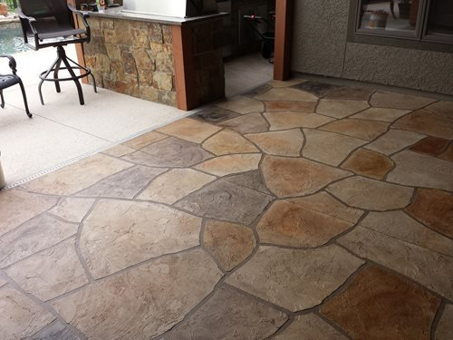 Big Red Decorative Concrete Kansas City Mo Patios & Outdoor living Sundek