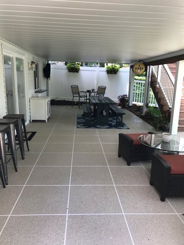 Byrne After Patios & Outdoor living Sundek