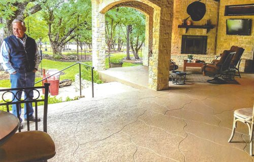Classic With Custom Scoreline San Antonio Patios & Outdoor living Sundek