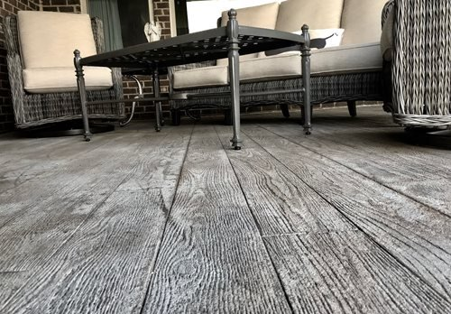Myers Sunstamp Wood Plank Nashville Patios & Outdoor living Sundek