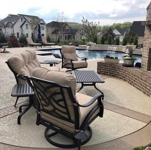 Nashville Pool Deck Patio Patios & Outdoor living Sundek