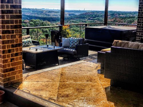 San Antonio (boerne, Tx) Stamp Rehab Mayer Patios & Outdoor living Sundek