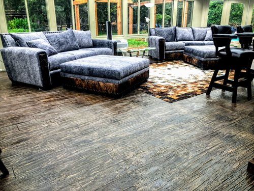 San Antonio Tuscan Interior Woodplank Patios & Outdoor living Sundek