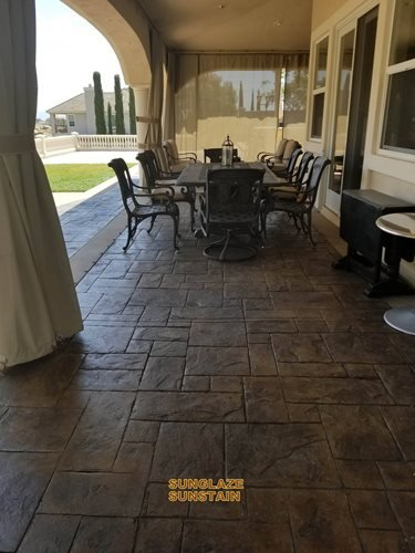 Stamp Rehab (pacific Concrete Coatings) Ca Patios & Outdoor living Sundek