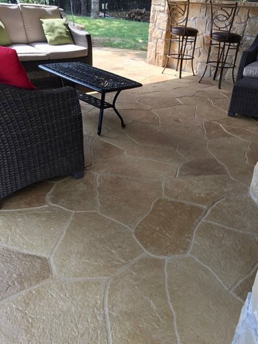 Sunstamp (atd Concrete Coatings Ft Worth Tx) Patios & Outdoor living Sundek