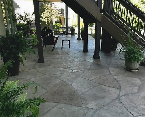 Tuscan Kansas City Mo (big Red Decorative Concrete) Patios & Outdoor living Sundek