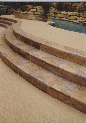 Decorative Concrete Resurfacing SunStamp Sundek ,