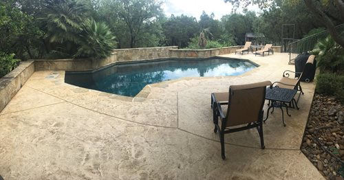 Sunstamp Pool Deck SunStamp Sundek ,
