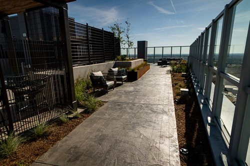 Commercial Lumen Project Virginia), Commercial Concrete Walkways & Stairs  Sundek