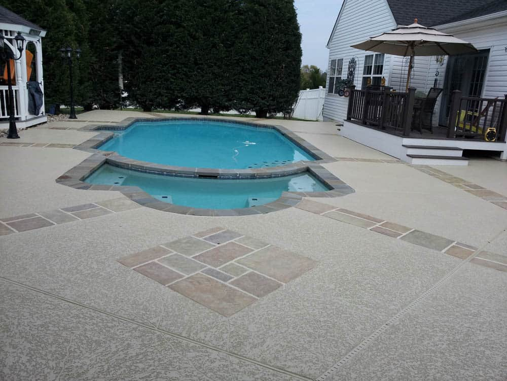 Concrete Pool Deck Resurfacing