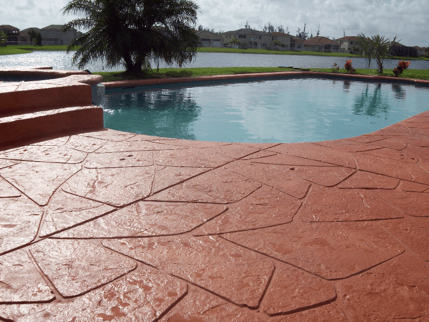 outdoor concrete paint versus acid stain sundek concrete coatings